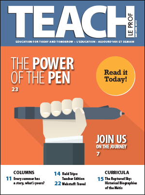 Latest Issue – TEACH Magazine