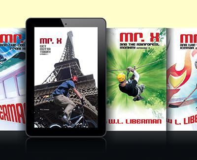 Mr. X Adventure Series