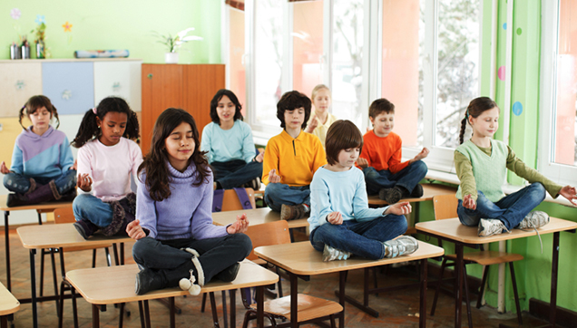 Breathe In, Breathe Out: Yoga and Mindfulness in the Class