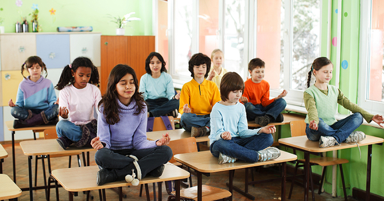 Breathe In, Breathe Out: Yoga and Mindfulness in the Classroom