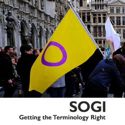 SOGI: Getting the Terminology Right