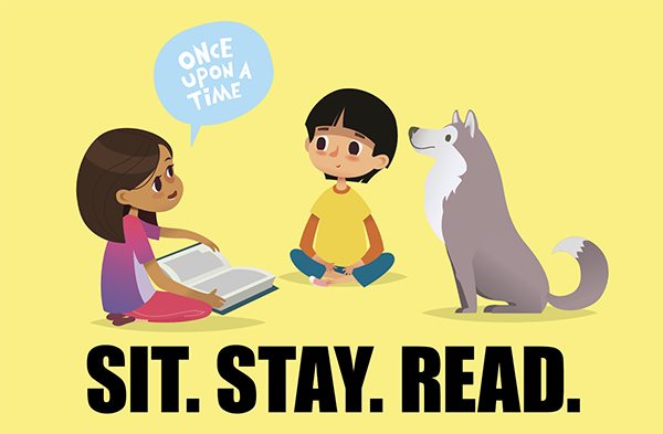 Sit. Stay. Read: How Dogs Can Help Improve Literacy