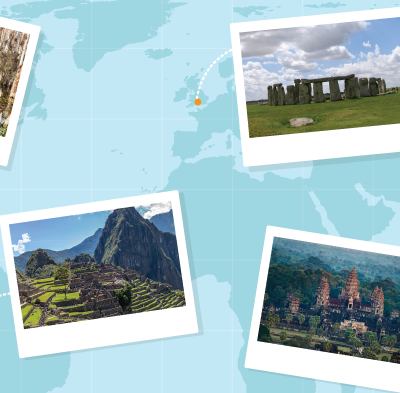 Virtual Field Trips: Ancient & Natural World Wonders
