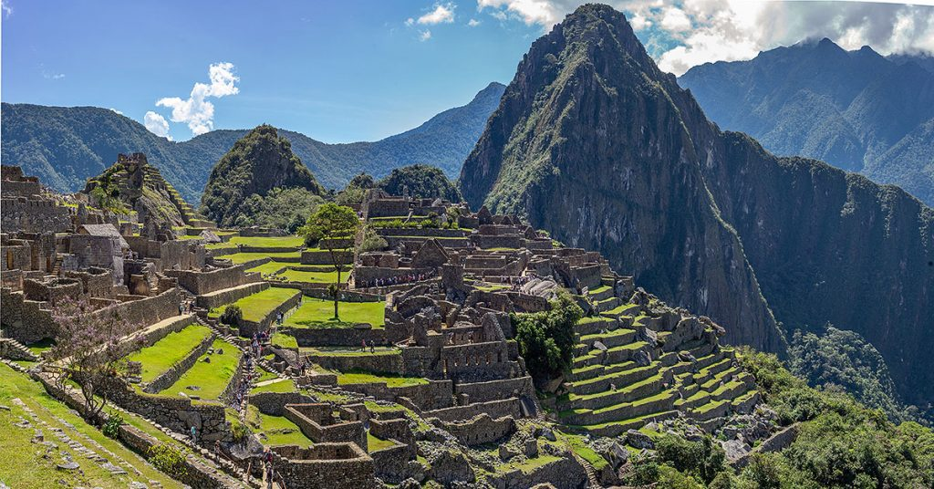 Machu Picchu .